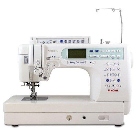 Швейная машинка janome memory craft 6600p. Фото 1. Свердловский.