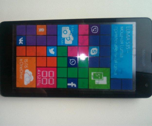 Microsoft lumia 535 dual sim. Фото 1.