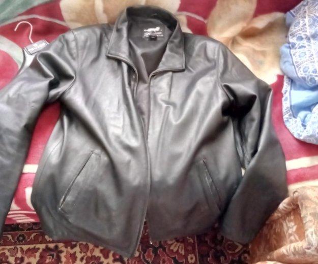 Куртки кожаные 3 штуке. Фото 1. Красногорск.