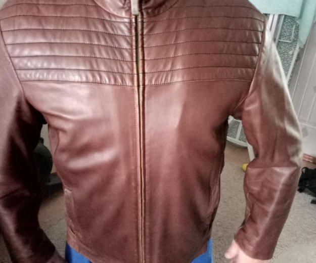 Куртки кожаные 3 штуке. Фото 2. Красногорск.