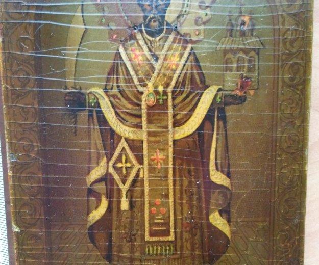 Икона 19 век николай можайский . Фото 1. Москва.