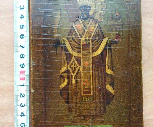 Икона 19 век николай можайский . Фото 2. Москва.