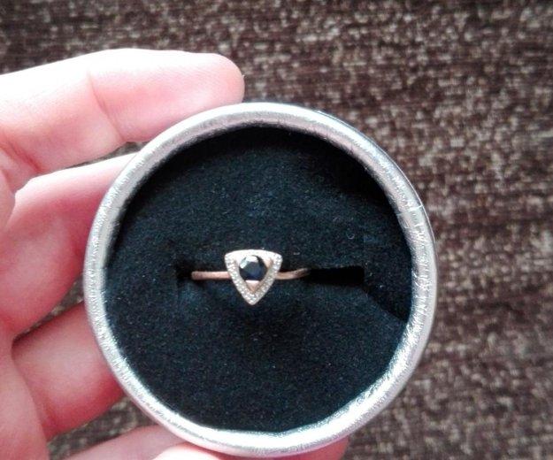 Продам золотое кольцо с сапфиром. Фото 1. Краснодар.