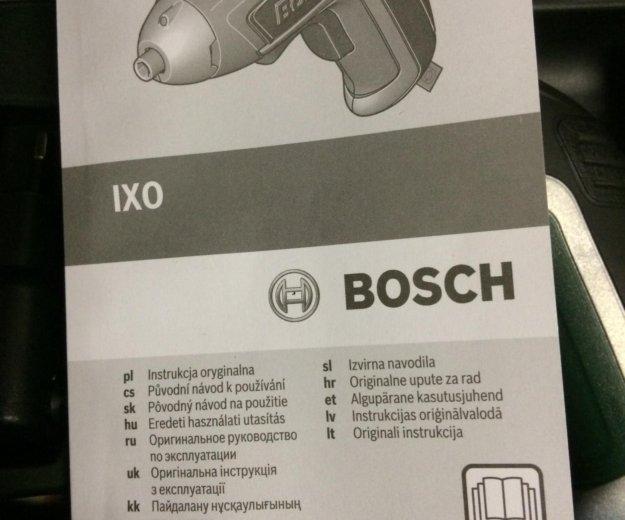 Электроотвёртка bosh. Фото 2. Омск.