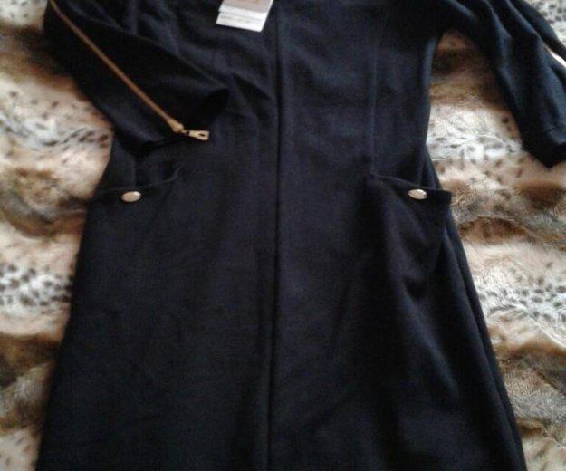 Трикотажное платье. Фото 1. Разумное.