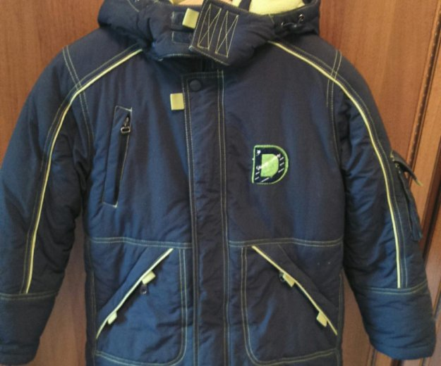 "Куртка для мальчика зимняя ""danilo"" рост 134 см. Фото 1. Тула."