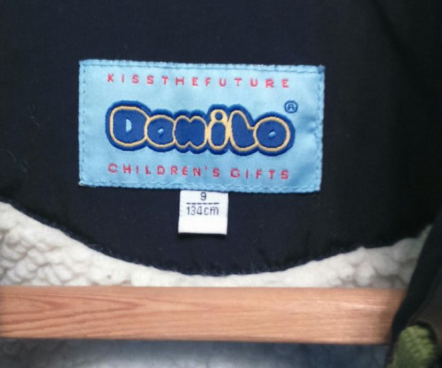 "Куртка для мальчика зимняя ""danilo"" рост 134 см. Фото 4. Тула."
