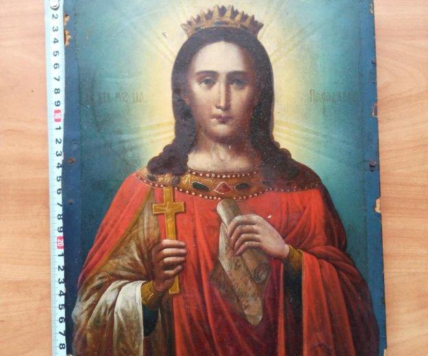 Икона 19 век параскева (защитница женщин). Фото 2. Москва.