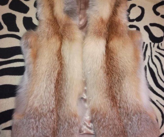 Меховая жилетка, 6 тыс. Фото 1. Домодедово.