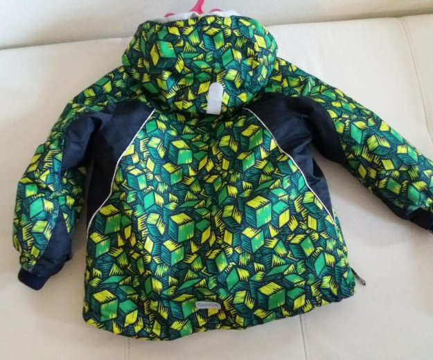 Куртка с комбенезоном для мальчиков зима-осень. Фото 2.