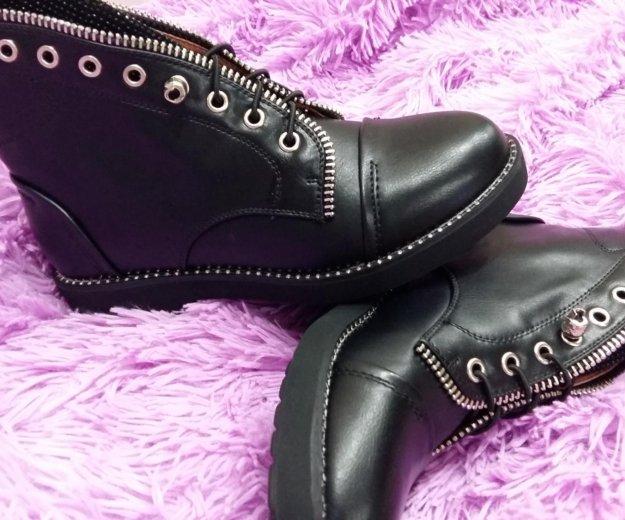 Ботинки женские осень новые 36р. Фото 1. Набережные Челны.