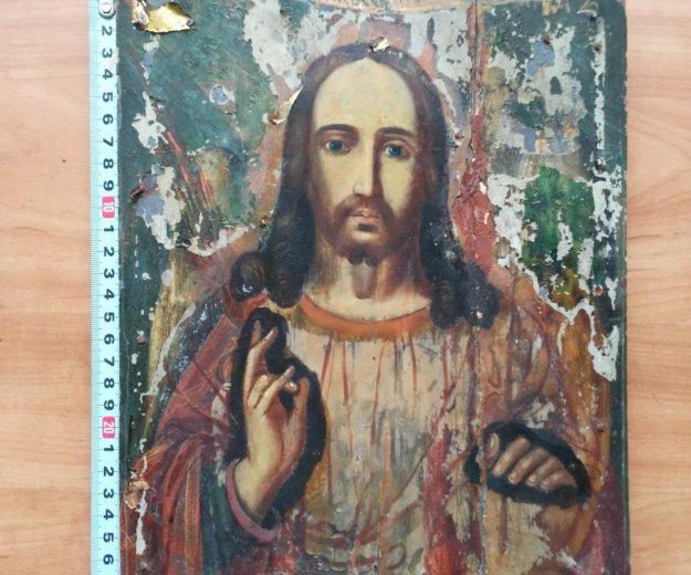 Икона 19 век господь вседержитель . Фото 2. Москва.