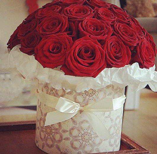 Розы в коробках. Фото 2. Нижний Новгород.