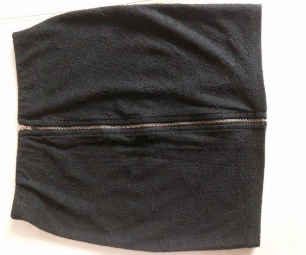 Коротенькая юбка bershka. Фото 1.