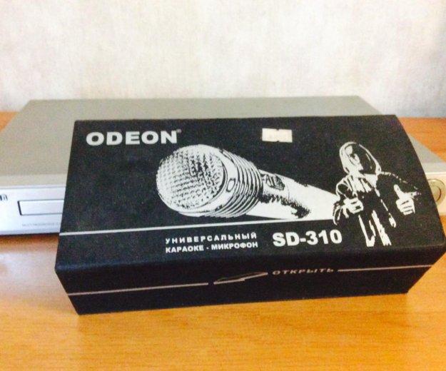 Dvd-плеер караоке, микрофон в подарок. Фото 2.