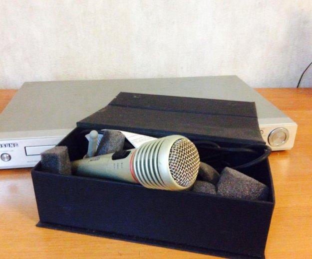 Dvd-плеер караоке, микрофон в подарок. Фото 3.
