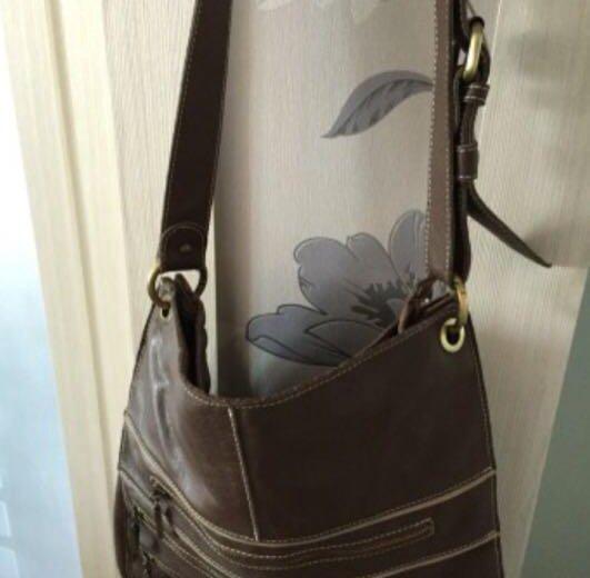 Итальянская кожаная сумка. Фото 1. Москва.