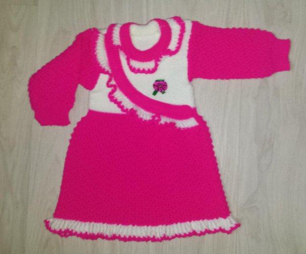 Платье вязаное. Фото 2. Пермь.
