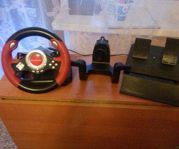Игровой руль. Фото 1. Волгодонск.