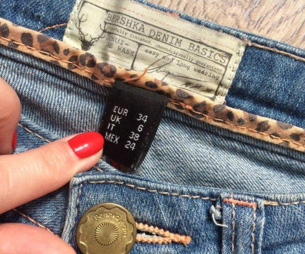 Джинсовые шорты bershka. Фото 2. Кемерово.