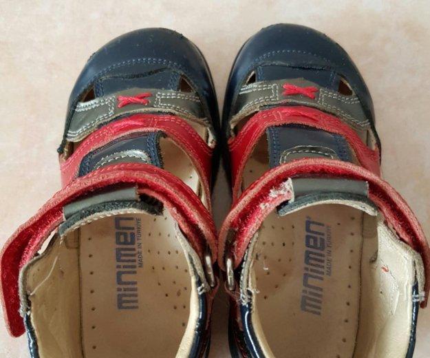 Туфли, босоножки  минимен minimen р24. Фото 2. Красногорск.
