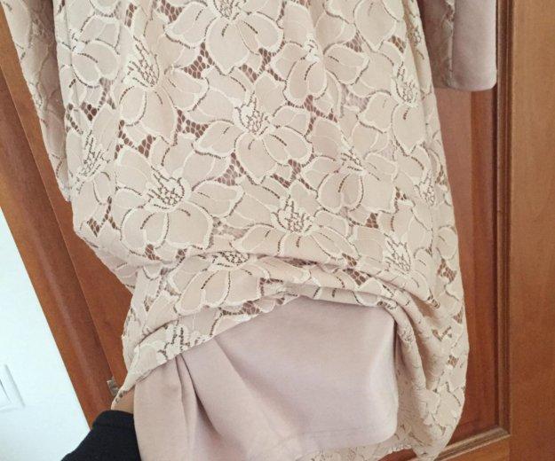 Платье , бежевое. Фото 3. Мытищи.