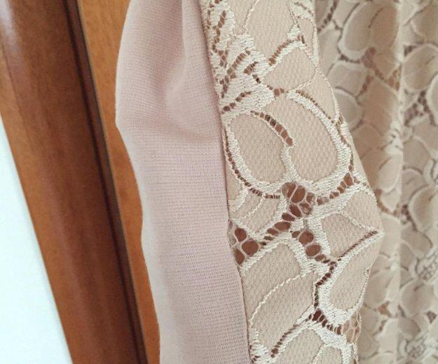 Платье , бежевое. Фото 2. Мытищи.