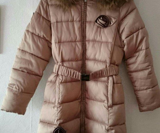 Зимнее пальто на девочку. Фото 1. Нижний Тагил.