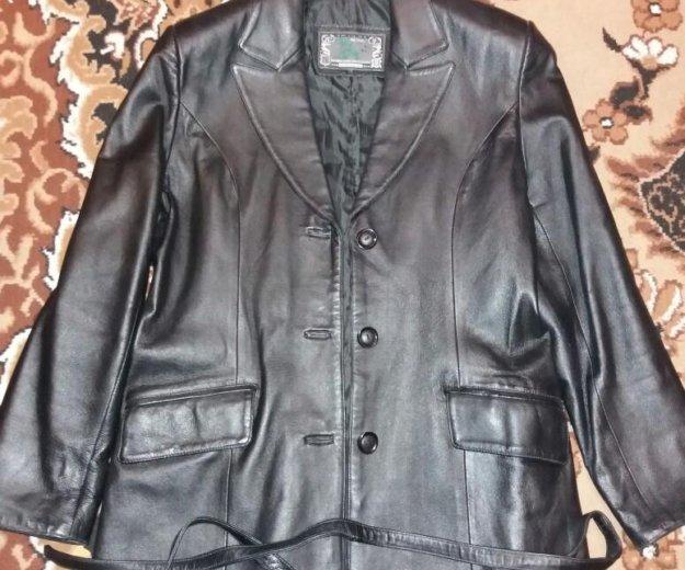 Кожаный пиджак. Фото 1. Одинцово.