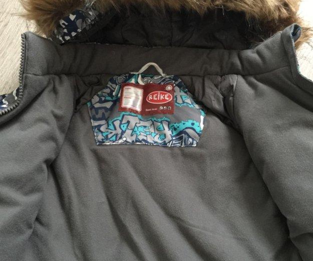 Зимняя куртка reike размер 110. Фото 2.