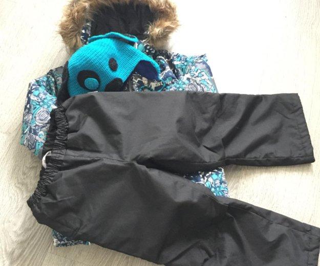 Зимняя куртка reike размер 110. Фото 4.