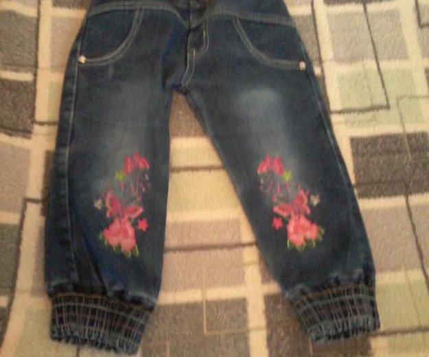 Утепленные джинсы 3-4г. Фото 1.