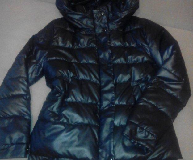 Стильная курточка на зиму под кожу. Фото 3. Нижнекамск.
