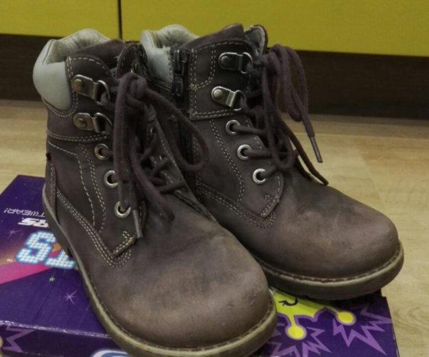 Демисезонные ботинки капика на флисе р.29. Фото 1. Зеленоград.