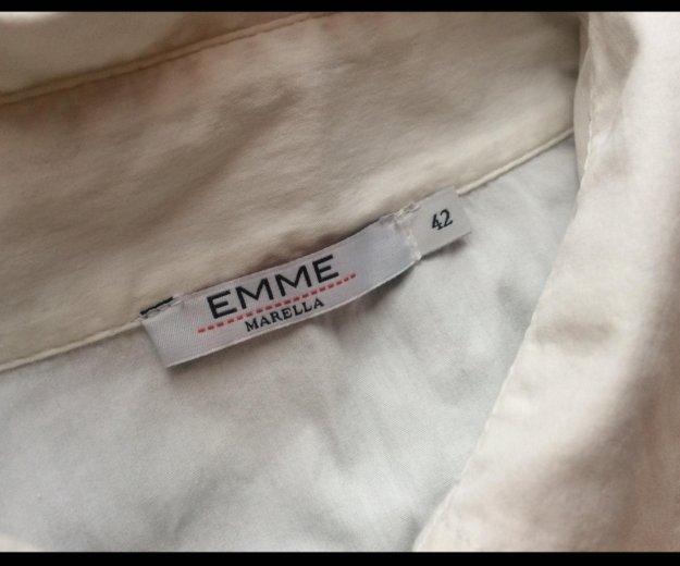 Рубашка marella, состояние новой, размер 42. Фото 2. Москва.