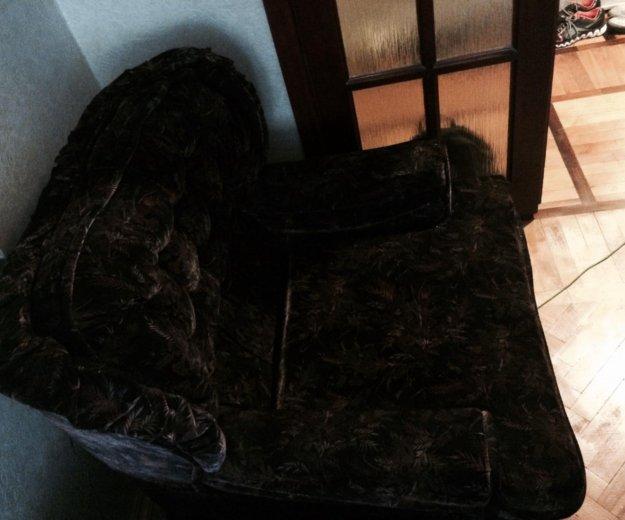 Велюровое кресло. Фото 2. Подольск.