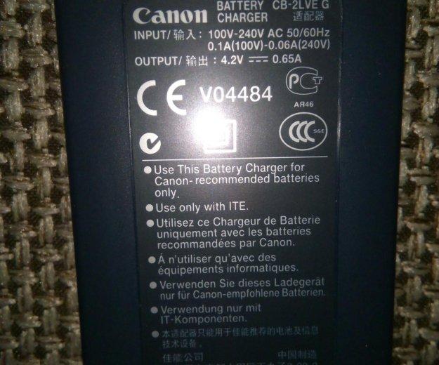 Зарядное устройство canon cb-2lve оригинал. Фото 1. Краснодар.