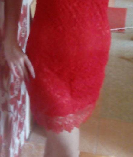 Платье красное кружевное. Фото 3. Курган.