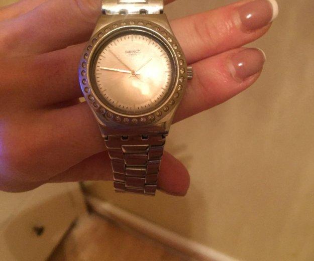Часы swatch женские. Фото 1. Санкт-Петербург.