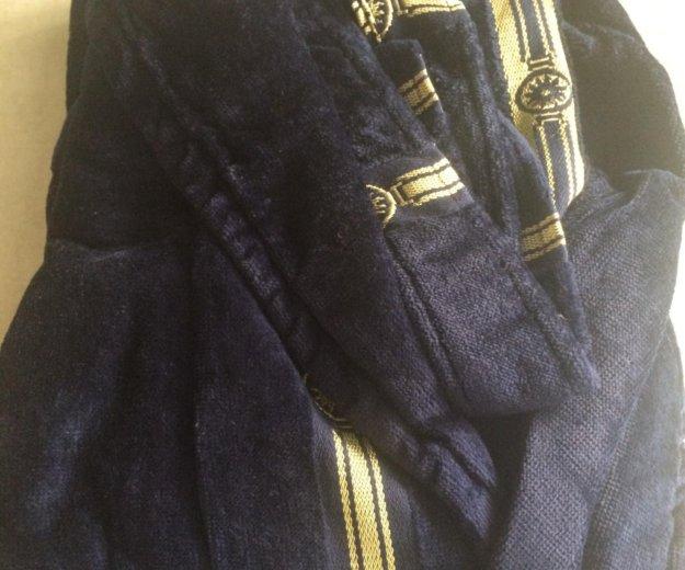 Махровый халат длинный. из турции. размер48-52. Фото 1. Москва.