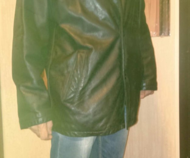 Куртка натуральная кожа 50. Фото 1. Санкт-Петербург.