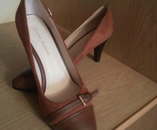 Женские замшевые туфли. Фото 1. Москва.