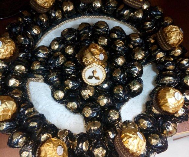 Подарок-руль из конфет. Фото 3. Пушкино.