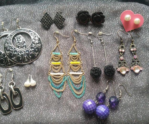Серьги фирм diva, accessories, h&m. Фото 1. Зеленоград.