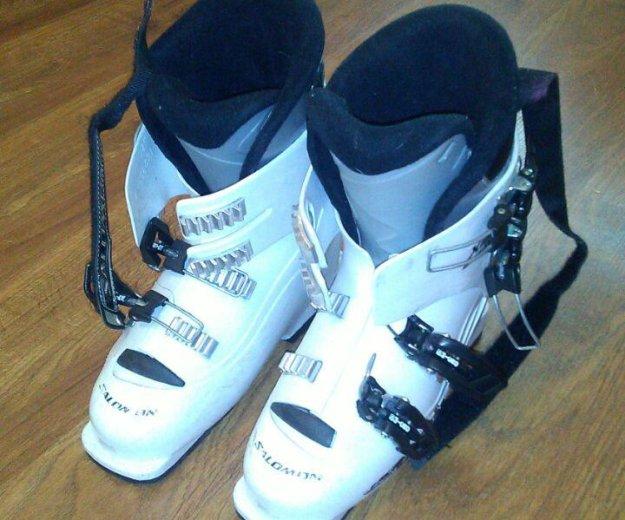 Продам горнолыжные ботинки.размер 24см. Фото 2.