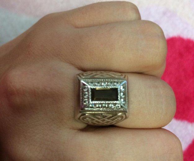 Продам серебряный перстень 17 ,5 размер. Фото 1. Сургут.