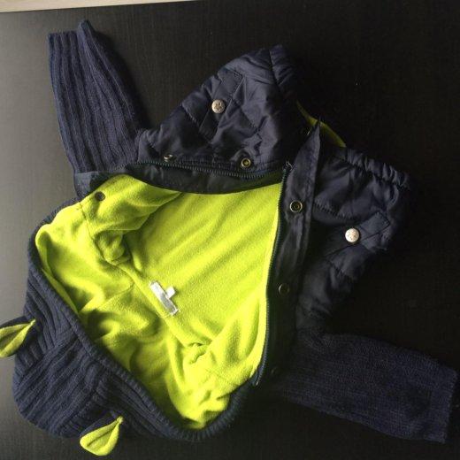 Куртка на мальчика (флис). Фото 2. Новокуйбышевск.