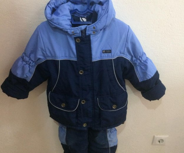 Куртка и полукомбинезон 104 110 зимний комплект. Фото 1. Москва.