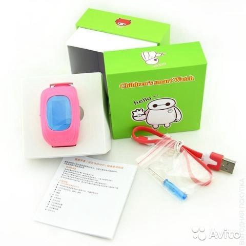 Детские часы smart baby watch q50 (ор-л). Фото 3. Воронеж.