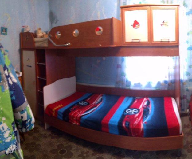 Продам двуярусную кровать. Фото 1. Кемерово.